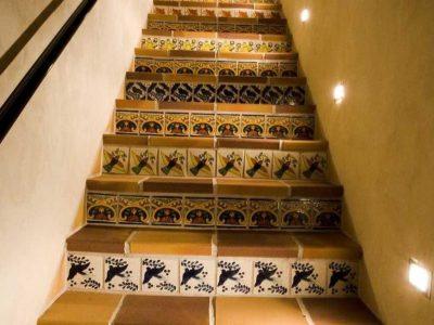 Su Nido Inn Heron Suite stairway, Ojai Hotel